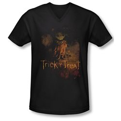 Trick 'R Treat Horror Zombie Comedy Movie Movie Poster Adult V-Neck T-Shirt Tee