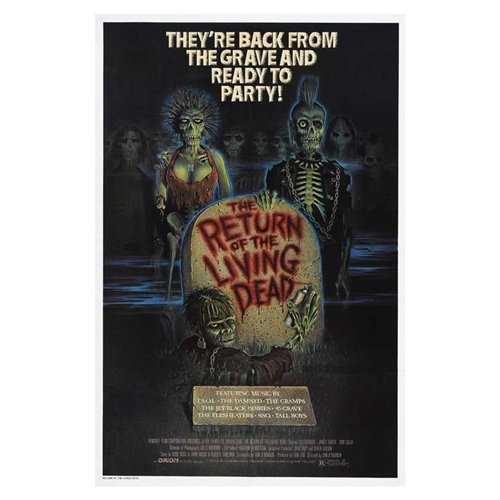 The Return of the Living Dead Poster Movie C 11 x 17 Inches - 28cm x 44cm Clu Gulager James Karen Linnea Quigley Don Calfa Jewel Shepard Beverly Randolph Miguel Nunez