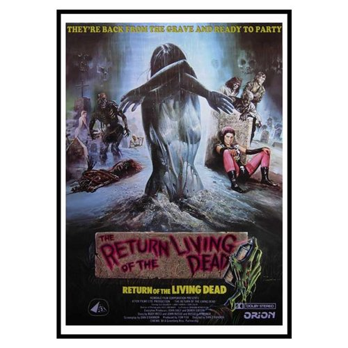The Return of the Living Dead Poster Movie D 11 x 17 Inches - 28cm x 44cm Clu Gulager James Karen Linnea Quigley Don Calfa Jewel Shepard Beverly Randolph Miguel Nunez