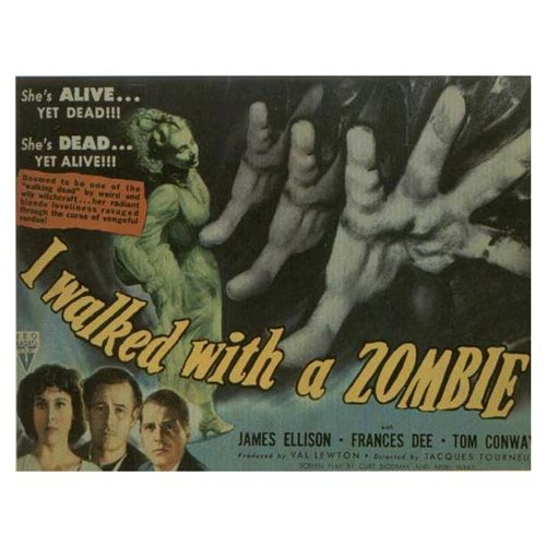 I Walked With a Zombie Poster Movie D 11 x 17 In - 28cm x 44cm Frances Dee Tom Conway James Ellison Christine Gordon Edith Barrett Darby Jones