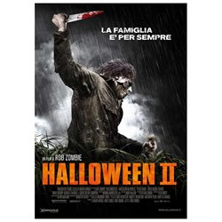 Halloween 2 Poster Movie Italian 27 x 40 In - 69cm x 102cm Sheri Moon Zombie Chase Wright Vanek Scout Taylor-Compton Brad Dourif Caroline Williams