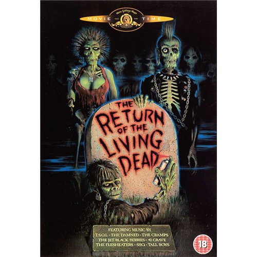 The Return of the Living Dead Poster Movie Dutch 27 x 40 In - 69cm x 102cm Clu Gulager James Karen Linnea Quigley Don Calfa Jewel Shepard Beverly Randolph