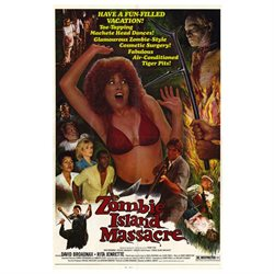 Zombie Island Massacre Poster Movie 27 x 40 In - 69cm x 102cm