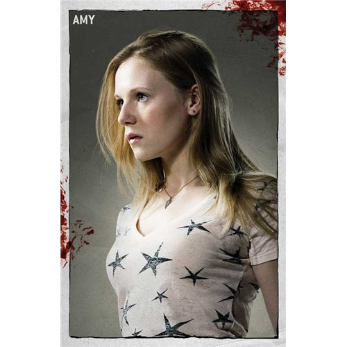 The Walking Dead Poster TV B 27 x 40 Inches - 69cm x 102cm Andrew Lincoln Emma Bell Sonya Thompson Steve Warren Jeryl Prescott IronE Singleton