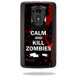 MightySkins Protective Vinyl Skin Decal for Otterbox Defender LG G Flex 2 Case wrap cover sticker skins Kill Zombies