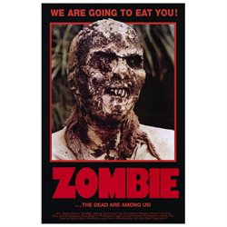 Zombie 11x17 Mini Movie Poster
