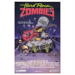 Hard Rock Zombies 11x17 Mini Movie Poster