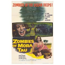 Zombies of Mora Tau 11x17 Mini Movie Poster