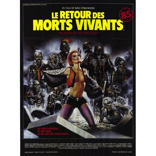 Return of the Living Dead, The 11x17 Mini Movie Poster