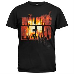 Walking Dead - Two Fire Logo T-Shirt