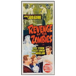 Revenge Of The Zombies Movie Poster Masterprint (24 x 36)