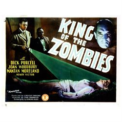 King Of The Zombies From Left John Archer Mantan Moreland Henry Victor 1941 Movie Poster Masterprint (14 x 11)