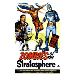 Zombies Of The Stratosphere 1952. Movie Poster Masterprint (24 x 36)