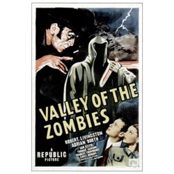 Valley Of The Zombies Movie Poster Masterprint (24 x 36)