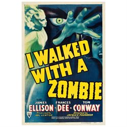 I Walked With A Zombie 1943 Movie Poster Masterprint (24 x 36)