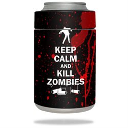 MightySkins Protective Vinyl Skin Decal for YETI Rambler Colster wrap cover sticker skins Kill Zombies