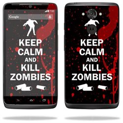 Mightyskins Protective Vinyl Skin Decal Cover for Motorola Droid Turbo Cover wrap sticker skins Kill Zombies