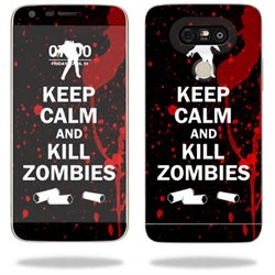 MightySkins Protective Vinyl Skin Decal for LG G5 wrap cover sticker skins Kill Zombies