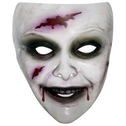 Bloody Female Zombie Mask