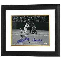 Bernie Carbo signed Boston Red Sox 8x10 Photo Custom Framed 1975 World Series Game 6 Homerun w/Rawly Eastwick