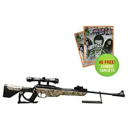 Bear River TPR 1200 Power Pellet Rifle 40 Free Zombie Targets