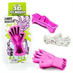 2 Zombie Hand 3D Ice Mould Ice Cube Mould Mold Jello Candy Party Silicone Tray!