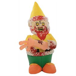 Giant 5' Inflatable Zombie Gnome Cannibal Halloween Decoration