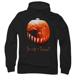 Trick 'R Treat Horror Zombie Comedy Movie Pumpkin Adult Pull-Over Hoodie