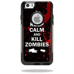 MightySkins Protective Vinyl Skin Decal Cover for OtterBox Commuter iPhone 6/6S Plus Plus Case Cover Sticker Skins Kill Zombies