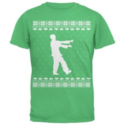 Big Zombie Ugly Christmas Sweater Youth T-Shirt