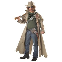 Zombie Hunter Adult Halloween Costume - Large