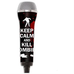 MightySkins Protective Vinyl Skin Decal for Redoctane Rock Band Microphone Case wrap cover sticker skins Kill Zombies