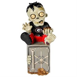 Georgia Bulldogs Zombie Figurine Bank by Forever Collectibles