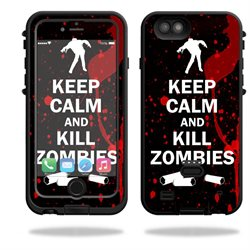 MightySkins Protective Vinyl Skin Decal for LifeProof FRE Power iPhone 6 Plus Case Case wrap cover sticker skins Kill Zombies