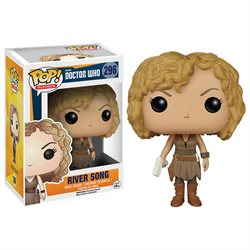 Funko Pop! TV: Doctor Who Vinyl Action Figure - River Song