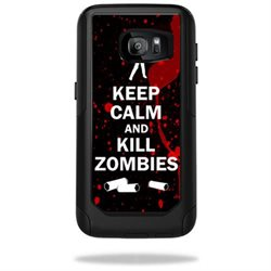 MightySkins Protective Vinyl Skin Decal for OtterBox CommuterSamsung Galaxy S7 Case wrap cover sticker skins Kill Zombies