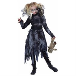 California Costumes Creepy Zombie Girl Child Costume 00488 Size M