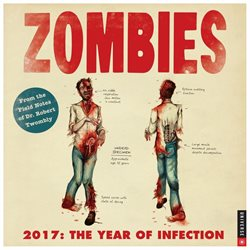 Zombies Wall Calendar by Andrews McMeel Publishing