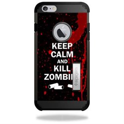 MightySkins Protective Vinyl Skin Decal for Spigen iPhone 6 Plus Tough Armor Kickstand Case Case wrap cover sticker skins Kill Zombies