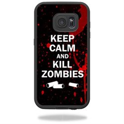 MightySkins Protective Vinyl Skin Decal for LifeProof Samsung Galaxy S7 Case fre Case wrap cover sticker skins Kill Zombies