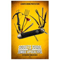 Scouts Guide to the Zombie Apocalypse Movie Poster (27 x 40)