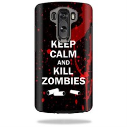 Mightyskins Protective Vinyl Skin Decal Cover for OtterBox Symmetry LG G3 Case cover wrap sticker skins Kill Zombies