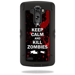 Mightyskins Protective Vinyl Skin Decal Cover for OtterBox Defender LG G3 Case cover wrap sticker skins Kill Zombies