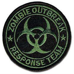 Tactical Combat Badge Morale Patch Hook And Loop Military Patch Designed By Bastion - Zombie Response Team Odg