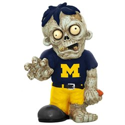 Michigan Wolverines Zombie Figurine-(Package of 2)
