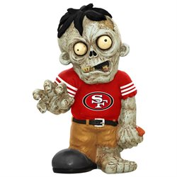 San Francisco 49ers Zombie Figurine-(Package of 2)