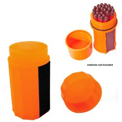 Match Container Box Water Resistant Survival Gear Pill Tube Case Outdoor Camping
