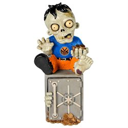 New York Knicks Zombie Figurine Bank by Forever Collectibles