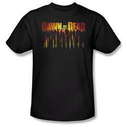 Mens DAWN OF THE DEAD Short Sleeve WALKING DEAD XXXLarge T-Shirt Tee