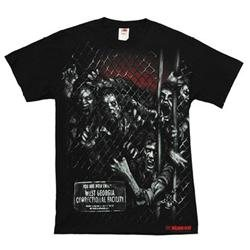 The Walking Dead Walker Fence Men's t-shirt tee